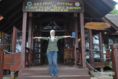 Keindahan Pulau Manukan, Kota Kinabalu, Sabah