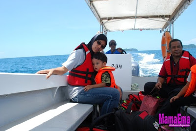 Keindahan Pulau Manukan di Sabah