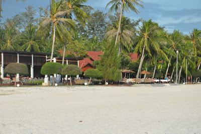 Suasana di Pantai Cenang Langkawi