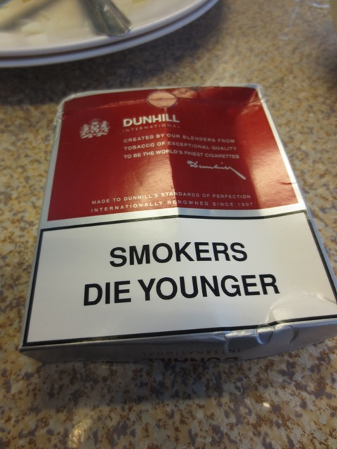 smoker die younger