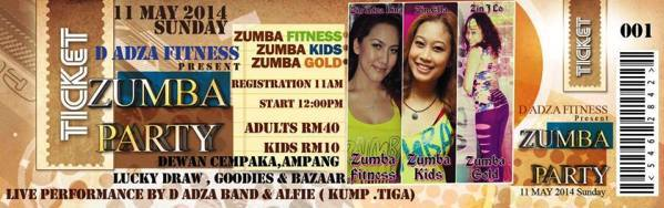Tiket Zumba