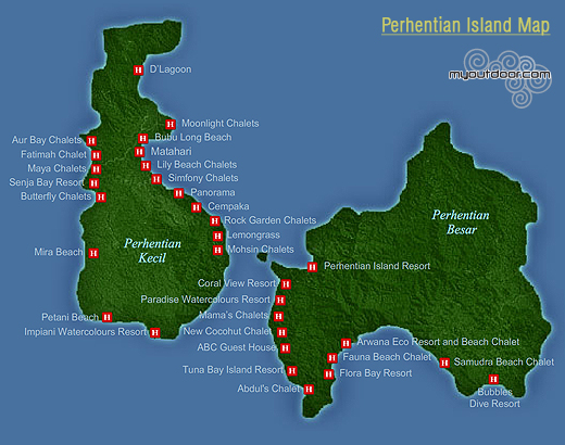 perhentian_Map