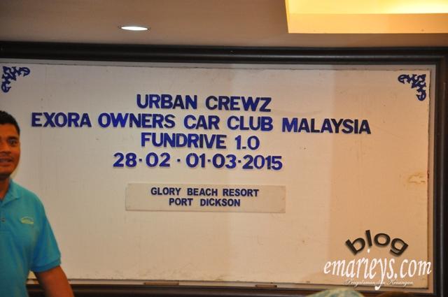 Konvoi UrbanCrewz Exora Owners Car Club Malaysia