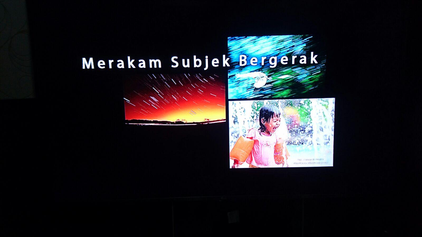 Bengkel Fotografi Bersama Adhadi Mohd Anjuran KBBA