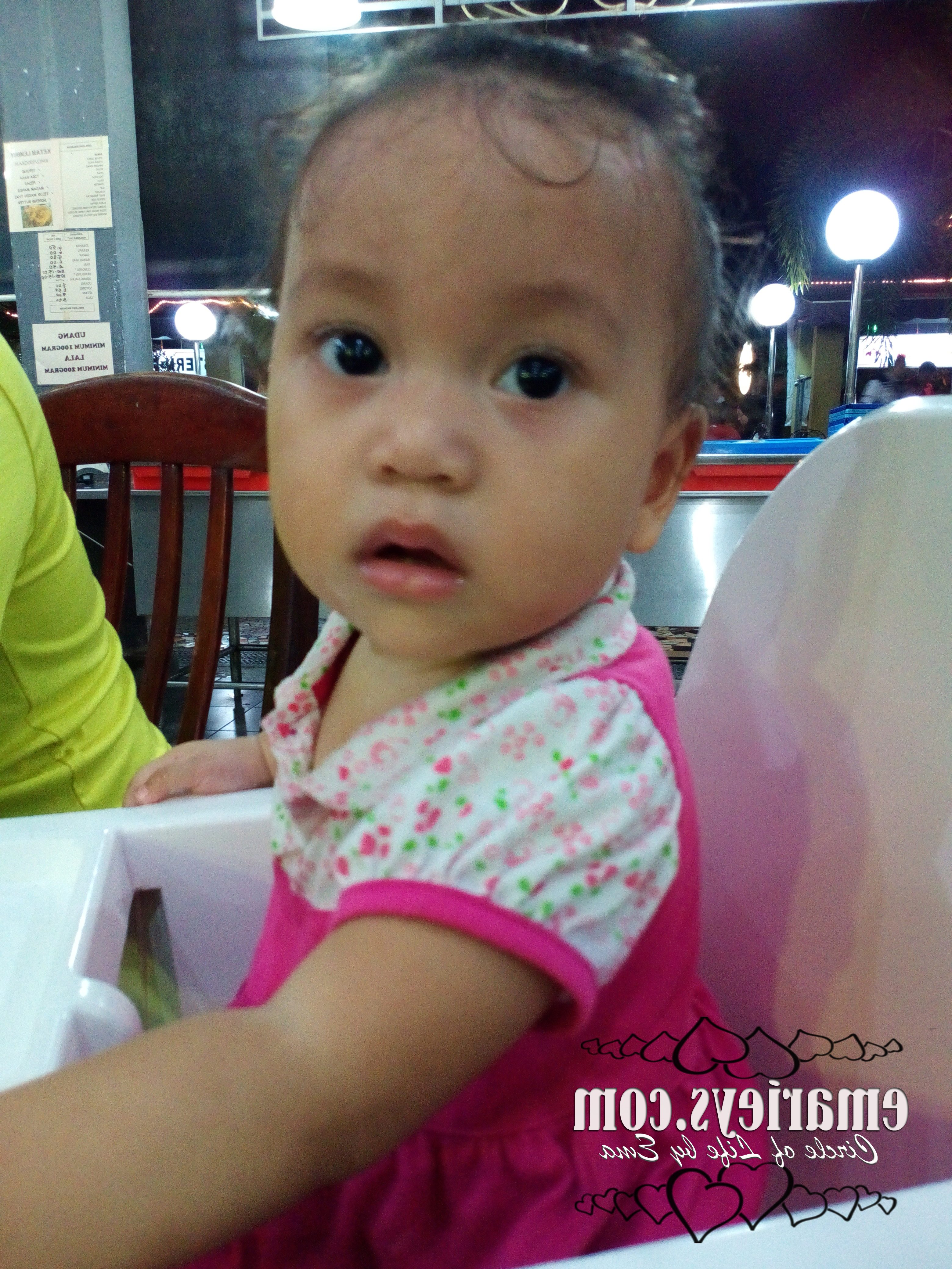 1st Birthday for Ayra Sufia