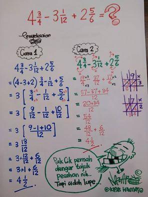 Formula Matematik Tahun 4