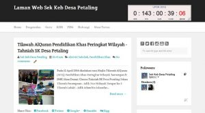 Laman Web SKDP