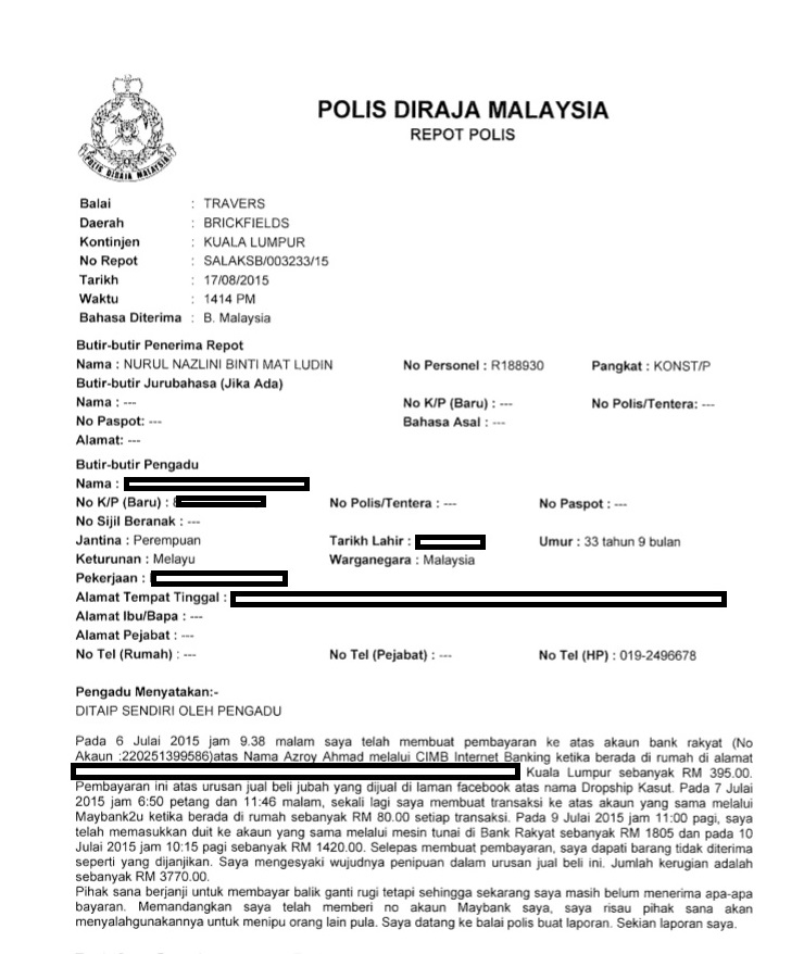 Report Polis