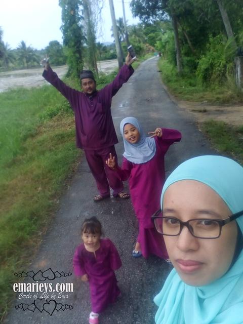 Rumah Wajib Pergi Setiap Kali Raya Di Bachok Kelantan