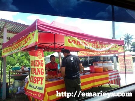 Gerai Goreng Pisang Crispy Sambal Kicap Johor