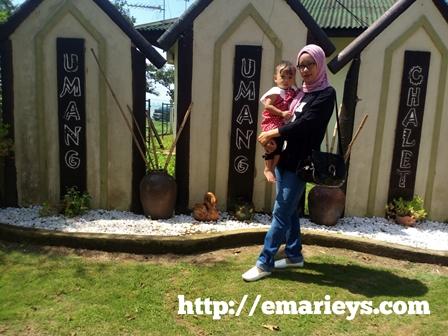 Lokasi Percutian Umang-Umang Chalet Melaka Best