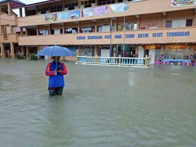 banjir di kelantan