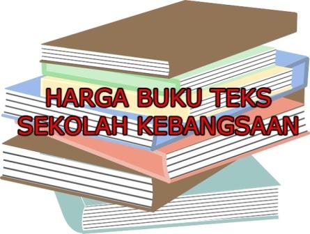 Senarai Harga Buku Teks Sekolah Kebangsaan Tahun Satu Hingga Tahun Enam