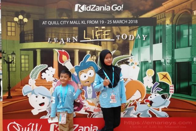Keseronokan Anak-Anak Ke KidZania Go Di Quill City Mall, Kuala Lumpur