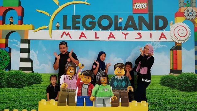 Percutian ke LEGOland