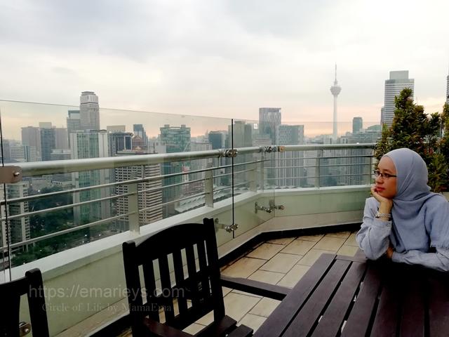 Buka Puasa di PNB Perdana Sambil Menikmati Pemandangan Indah KLCC dan KL Tower Dari Tingkat 39