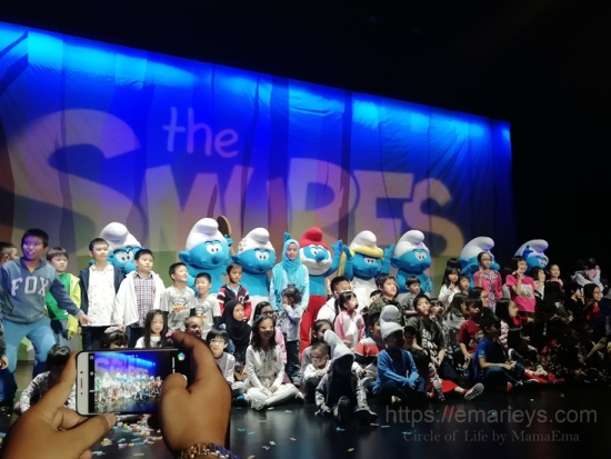 Bawa anak-anak tengok SMURFS live on stage di Genting Highlands