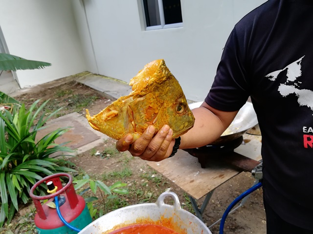 Resipi Kari Kepala Ikan Tanpa Santan