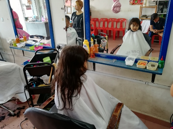 Rambut Anak Rosak