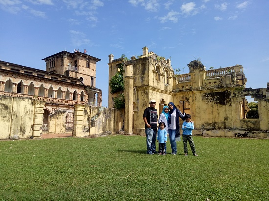 Kellie's Castle, Batu Gajah, Ipoh Sebuah Bangunan Istana Lama