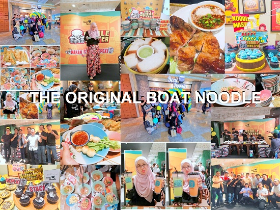 Ulangtahun ke-5 The Original Boat Noodle di The Garden Mall Meriah