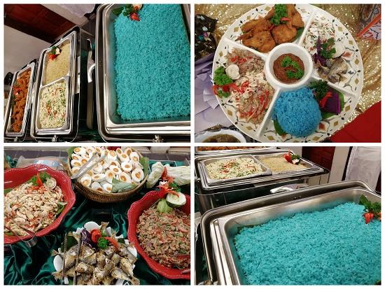 bufet ramadhan nasi kerabu