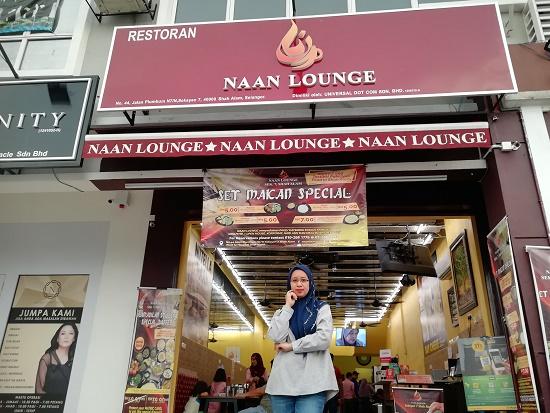 Buka Puasa Dengan Roti Naan Cheese Pun Kenyang Sangat – Naan Lounge Shah Alam