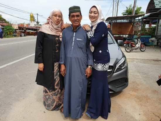 with abah aidilfitri 2018