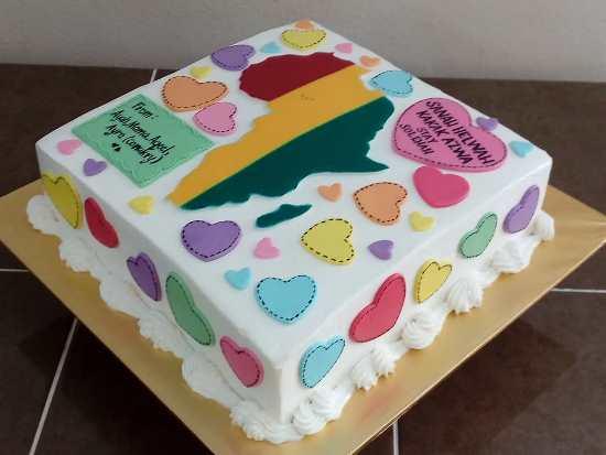 Kek Sebagai Pengganti Menyambut Birthday Kakak