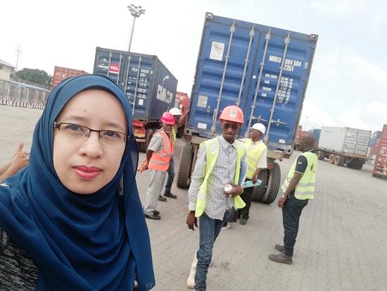 Masuk Port Conakry, Fuh….Boleh Tahan Seram