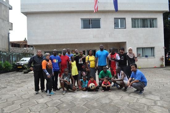 komuniti kecil malaysia sports day