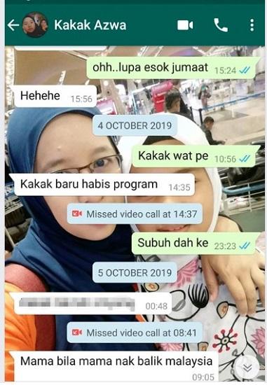 """""""Mama, Bila Mama Nak Balik Malaysia?"""" Soalan Yang Paling Susah Nak Jawab."""