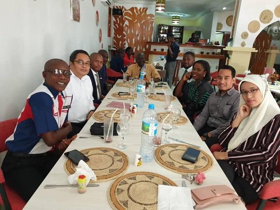 Farewell Our Third Secretary, Dah Nak Balik Malaysia.