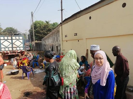 Majlis Menamakan New Baby di Guinea, Sangat Happening and Colorful
