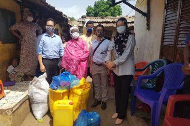 Sumbangan Makanan Asasi Kepada Rumah Anak Yatim Hafia 2, Conakry, Guinea