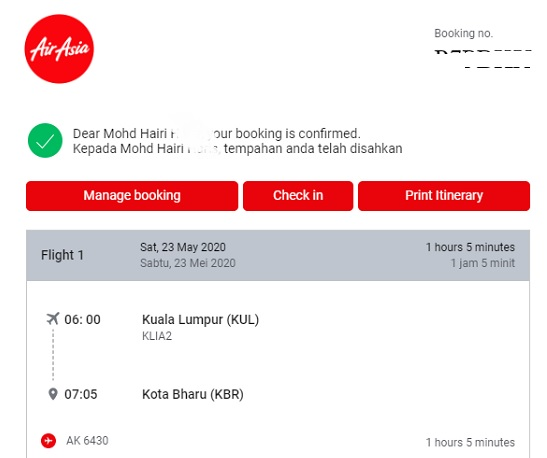 air asia refund