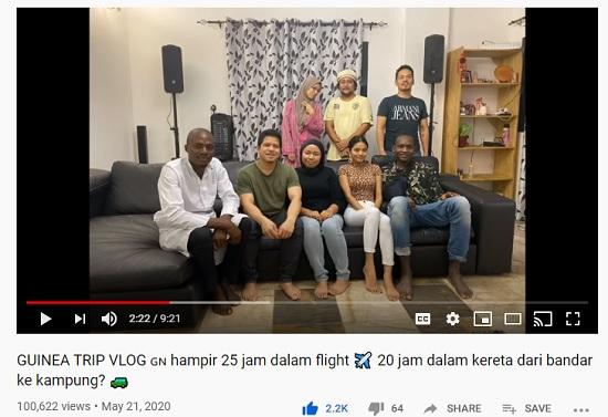 youtube channel fila kahwin orang guinea