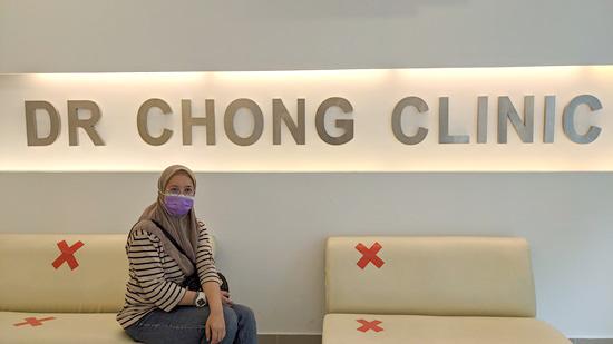Buat Rawatan Muka Dengan Dr Chong Clinic Sebelum Terbang ke Afrika