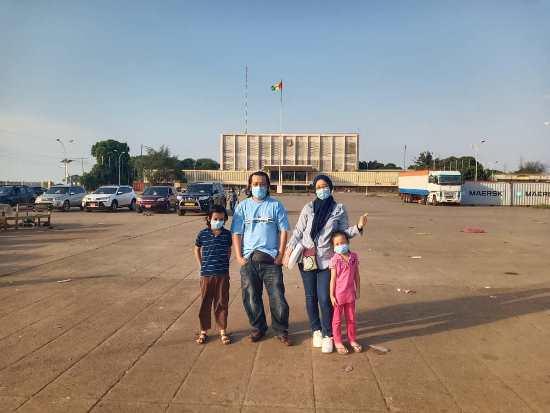 PCR Test di Conakry, Guinea | Alat Swab Test Rodok Hidung Besar Wey